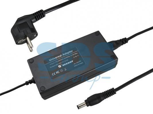 Источник питания 110-220V AC/12V DC, 12,5А, 150W с DC разъемом подключения 5.5*2.1, без влагозащиты (IP23)