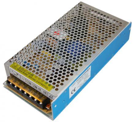 Источник питания 220V AC/12V DC, 12,5A, 150W с разъёмами под винт, без влагозащиты (IP23) dc dc boost converter 10v 32v to 12v 35v step up power supply module 150w 10a