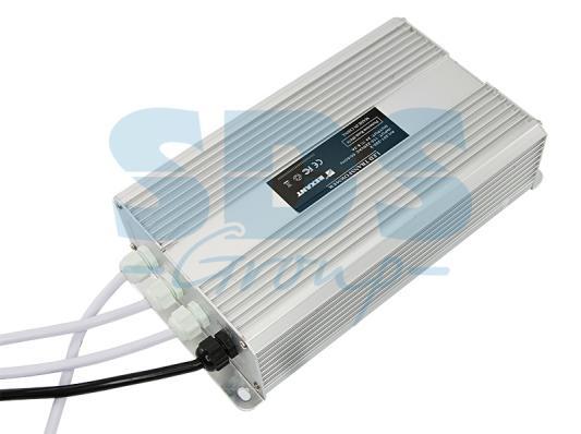 Источник питания тонкий 220V AC/24V DC, 8,33А, 200W с проводами, влагозащищенный (IP67) new original hf kp23b 200w 3000r min with brake ac servo motor