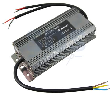 Источник питания тонкий 220V AC/24V DC, 3А, 72W с проводами, влагозащищенный (IP67) led driver ac input 220v to dc 1800w 0 24v 75a adjustable output switching power supply transformer for led strip light