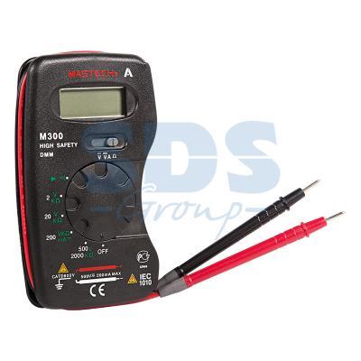 Портативный мультиметр M300 MASTECH мультиметр mastech ms8239c