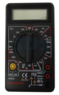 Портативный мультиметр M832 MASTECH мультиметр mastech ms8269