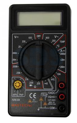 Портативный мультиметр M838 MASTECH мультиметр mastech ms8269