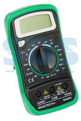 Портативный мультиметр MAS830B MASTECH мультиметр mastech ms8239c