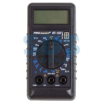 Портативный мультиметр -182 (DT-) Proconnect