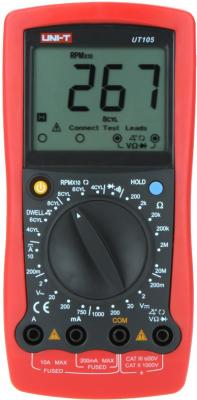 Автомобильный мультиметр UNI-T UT105 портативный мультиметр uni t ut33d