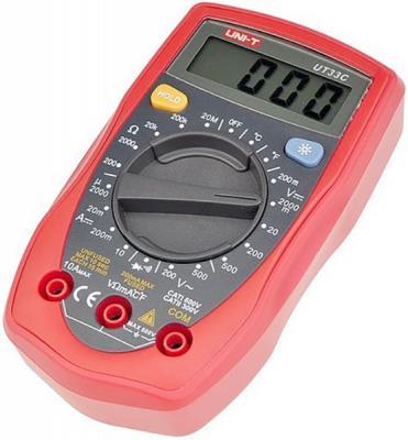 Портативный мультиметр UNI-T UT33C мультиметр uni t uni t ut71b alicate amperimetro ac dc