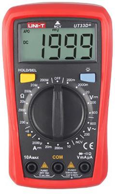 Портативный мультиметр UNI-T UT33D цены онлайн