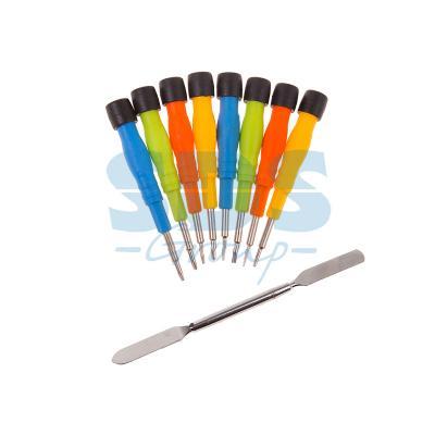 Набор для точечных работ 9 предметов в пластиковом боксе Rexant набор для точечных работ rexant 6 предметов