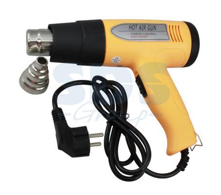 Электрофен для термоусадки с терморегулятором 220V/800-1500 Вт  REXANT