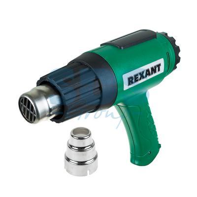 Электрофен промышленный 220В/1600Вт с терморегулятором  REXANT