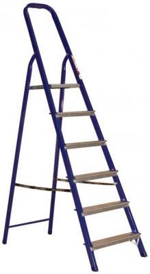 Стремянка металлическая комбинированная шесть ступеней