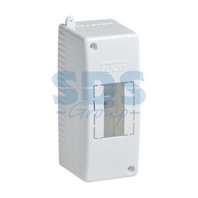 Коробка о/п на 2 модуля 130х50х65мм (68022)