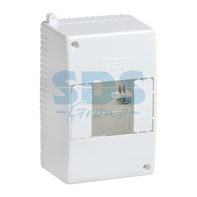 Коробка о/п на 4 модуля 130х90х65мм (68024)