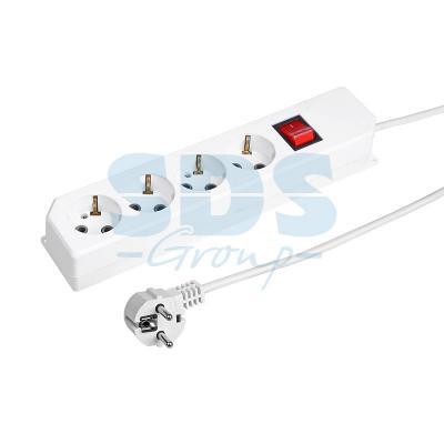 Сетевой фильтр Proconnect 11-9512 1.5 м 4 розетки сетевой фильтр proconnect 4 sockets 3m white 11 9524