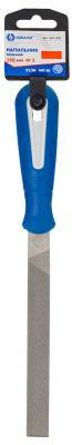 Напильник плоский КОБАЛЬТ 247-330 двухкомпонентная рукоятка, № 1, 150мм, подвес