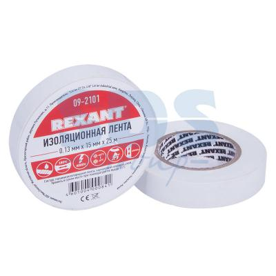 Изолента 15мм х 25м белая REXANT цена