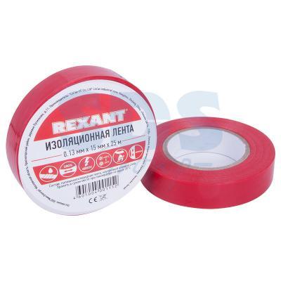 Изолента 15мм х 25м красная REXANT цена