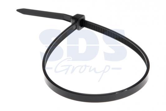 Хомут nylon 250 x 3,6 мм 100 шт чёрный REXANT ydsl yds 200m 8 x 200mm self locking nylon cable tie wraps white 250 pcs