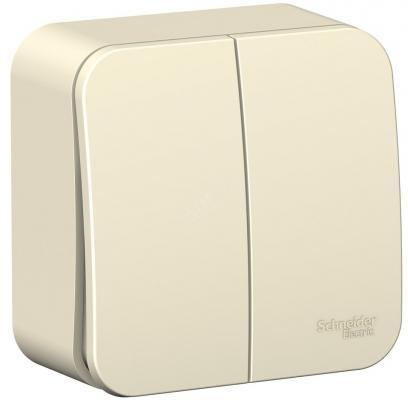 Выключатель SCHNEIDER ELECTRIC BLNVA105002 Blanca 2-кл. оп сх.5 10А 250В молоч.