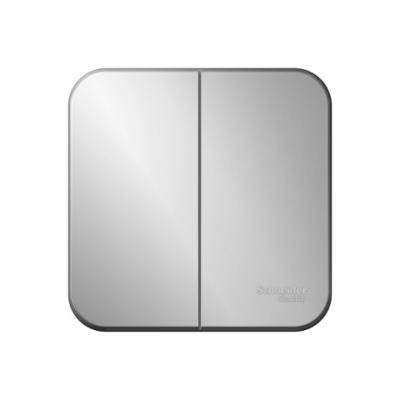 Выключатель SCHNEIDER ELECTRIC BLNVA105013 Blanca 2-кл. оп сх.5 10А 250В изол. пласт. алюм.