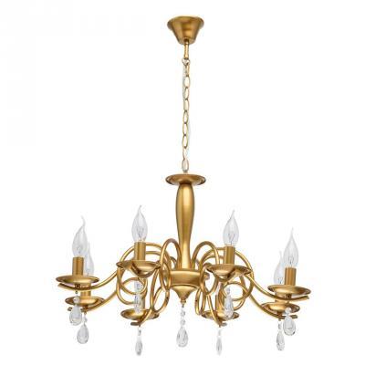 Подвесная люстра De Markt City Аманда 10 481013508 наземный высокий светильник fumagalli globe 250 g25 158 000 aye27
