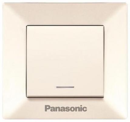 Выключатель PANASONIC WMTC0002-2BG-RES Arkedia 1кл свет крем