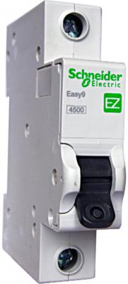 Выключатель автоматический Schneider Electric EASY9 ВА 1П 6А C 4.5кА 1DIN 1полюс автомат 1p 6а тип с 4 5ка schneider electric easy9