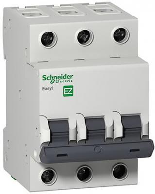 Выключатель автоматический Schneider Electric EASY9 ВА 3П 20А C 4.5кА 3DIN 3полюса 82х54мм автомат 1p 20а тип с 4 5ка schneider electric easy9