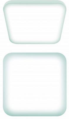 Потолочный светодиодный светильник (UL-00003373) Uniel ULI-B312 26W/NW/33 Quatro uniel ulo cl120 40w nw silver
