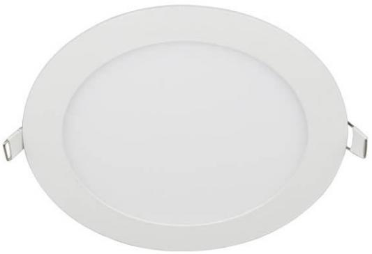 Встраиваемый светодиодный светильник (UL-00003381) Volpe ULP-Q203 R225-18W/NW White встраиваемый светодиодный светильник ul 00003089 uniel ulp 3030 18w nw effective white