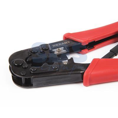Кримпер для обжима 8P8C / 6P6C (ht-568R) REXANT кримпер rexant profi 8p8c ht 808 12 3453