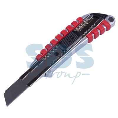 Нож с перовым лезвием 5 запасных лезвий (скальпель) Rexant нож технический fit 5 запасных лезвий 18 мм