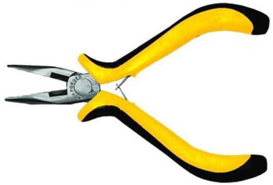 Тонконосы FIT 51633 мини черно-желтая мягкая ручка никел.антикор.покрытие тонконосы fit 50798