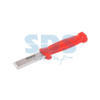 Нож-стамеска нержавеющая сталь лезвие 75х22 мм Rexant нож строительный нержавеющая сталь лезвие 95 мм rexant