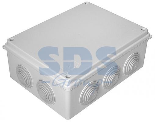 Коробка распаячная 40-0320 для о/п безгалогенная (HF) 200х150х75