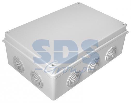 Коробка распаячная 40-0330 для о/п безгалогенная (HF) 260х175х90