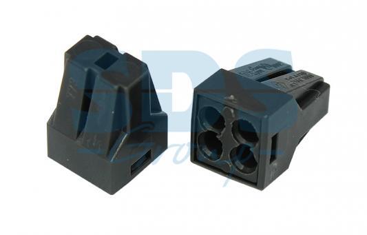 Электромонтажные экспресс-клеммы 773-304 (4*2.5мм? с пастой) REXANT