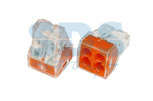 Электромонтажные экспресс-клеммы 773-324 (4*2.5мм?) REXANT