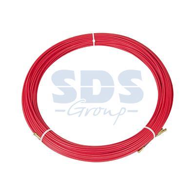 Протяжка кабельная (мини УЗК в бухте), стеклопруток, d=3,5мм, 100м КРАСНАЯ шланг сочащийся х 1м в бухте 100м gardena 01987