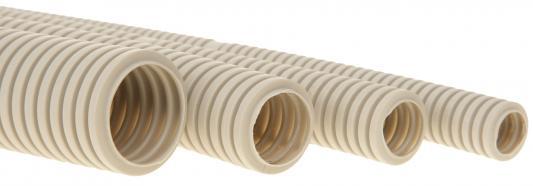 Труба гофрированная ПВХ 25 с зондом (50 м/уп) Гибкая