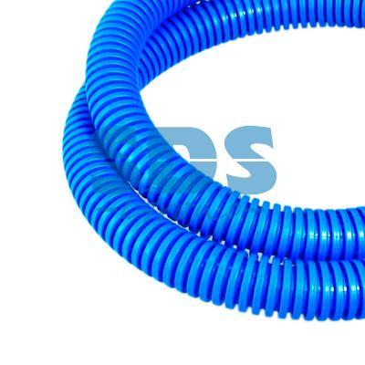 Труба гофрированная ПП лёгкая не распространяющая горение с/з синяя д25