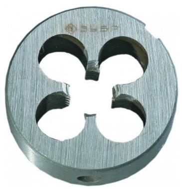 Плашка ЗУБР 4-28022-06-1.0 МАСТЕР круглая ручная М6x1.0