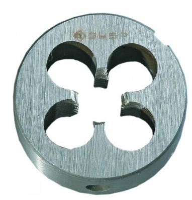 Плашка ЗУБР 4-28022-16-2.0 МАСТЕР круглая ручная М16x2