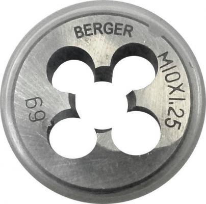 Плашка BERGER BG1012 метрическая м14х1.5мм плашка berger bg1004