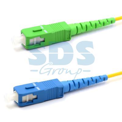Патч-корд оптический переходной (SM), 9/125 (OS2) SC/APC-SC/UPC, (Simplex), LSZH, 7м