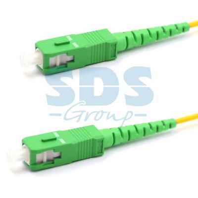 Патч-корд оптический соединительный (SM), 9/125 (OS2), SC/APC-SC/APC, (Simplex), LSZH, 20м