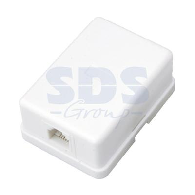 Телефонная розетка - 1 6P-4C REXANT телефонная розетка abb bjb basic 55 шато 1 разъем цвет черный