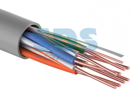 Кабель UTP 4PR 24AWG CAT5e 100м PROCONNECT акустический кабель 2х0 75 кв мм красно черный 100м proconnect 01 6104 6