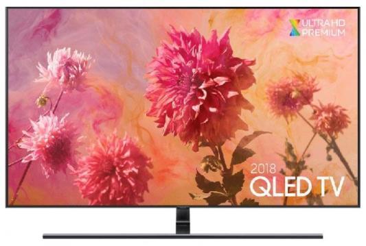 Телевизор Samsung QE55Q9FNAUXRU черный телевизор samsung ue65mu6300ux черный